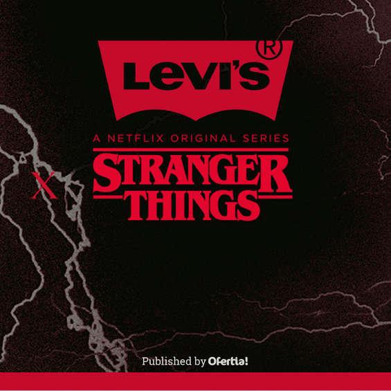 Ofertas de Levi's, Stranger Things