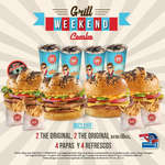 Ofertas de Sixties Burger, Grill Weekend