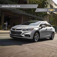 Catálogo Chevrolet Cruze 2018