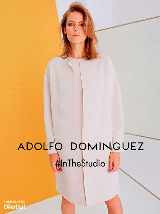 Ofertas de Adolfo Dominguez, #InTheStudio