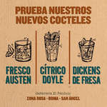 Ofertas de Librería el Péndulo, Nuevos cocteles