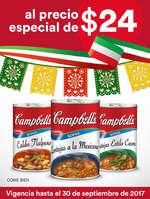 Ofertas de Campbell's, Al precio especial de $24.00