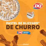 Ofertas de Dairy Queen, Pastel de Blizzard - Churro