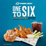 Ofertas de Wing's Army, One to six