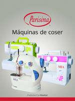 Ofertas de Parisina, Máquinas de coser