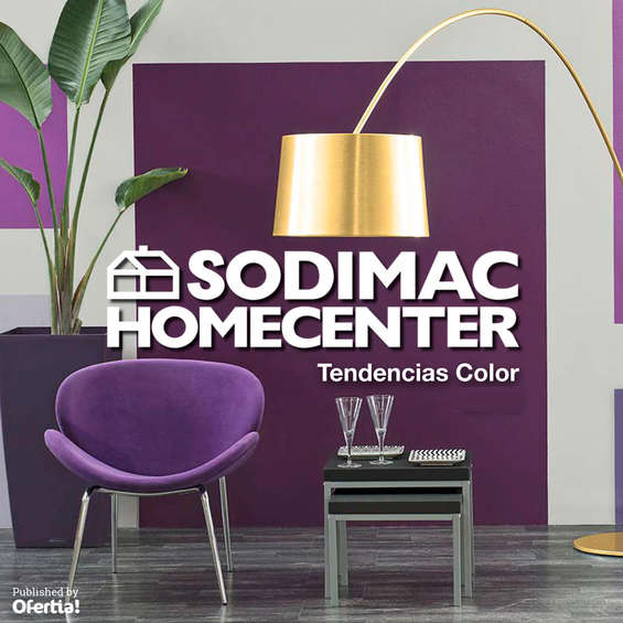 Ofertas de Sodimac, Tendencias de color