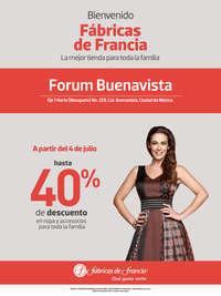 Bienvenido Fábricas de Francia Forum Buenavista
