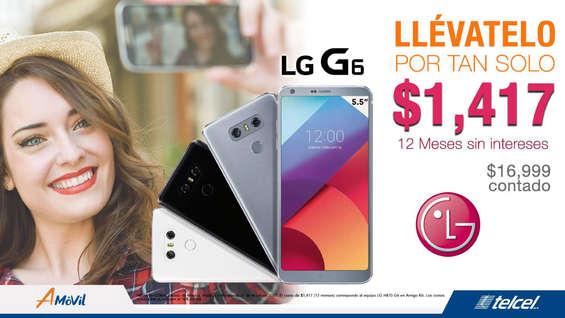 Ofertas de A-Móvil, LG en pagos