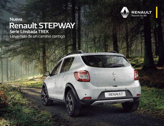 Ofertas de Renault, stepway serie limitada trek