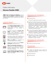 Nómina Flexible HSBC
