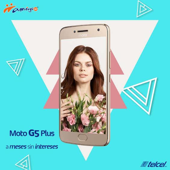 Ofertas de Telcel, Moto G5 Plus