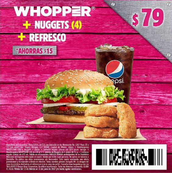Ofertas de Burger King, Cupones Burger king