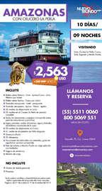 Amazonas con crucero La Perla