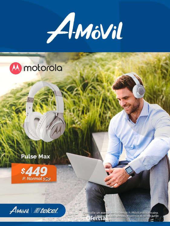 Ofertas de A-Móvil, Motorola Pulse Max $449