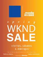 Ofertas de Moda In Casa, Primavera - Weekend SALE