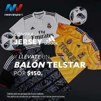 Promo Jersey + balón Adidas