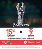 Ofertas de Fábricas de Francia, Graduaciones Inolvidables