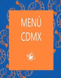 Menú CDMX