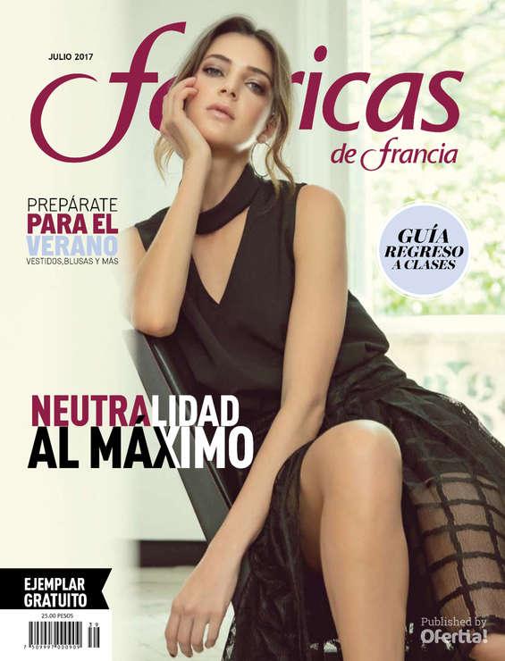 Ofertas de Fábricas de Francia, Revista Julio Fábricas de Francia