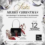 Ofertas de Saks Fifth Avenue, Merry Christmas