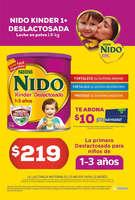 Ofertas de Farmacias Moderna, Promo kinder + nido