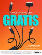 Ofertas de Mobo, Cable Pulpo 10 en 1 GRATIS