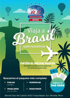 Ofertas de RS Viajes, Viaja a Brasil