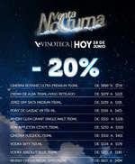 Ofertas de Vinoteca, Venta Nocturna