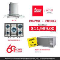 Campana + Parrilla
