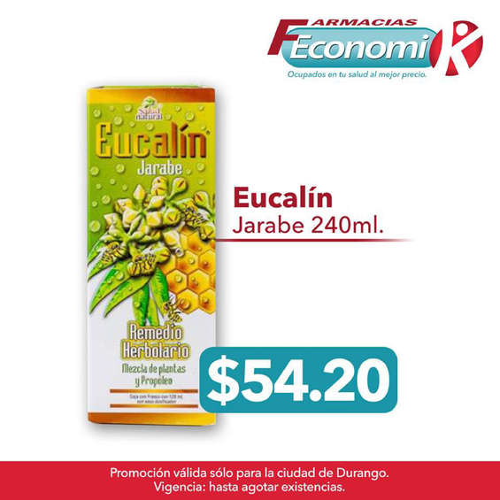Ofertas de Farmacias Economik, Eucalín