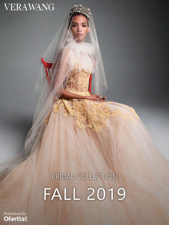 Ofertas de Vera Wang, Bridal Collection - Fall 2019