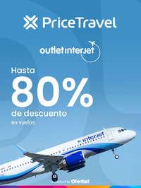Outlet Interjet Hasta 80% de descuento en vuelos