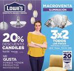 Ofertas de Lowes, Macroventa Iluminación