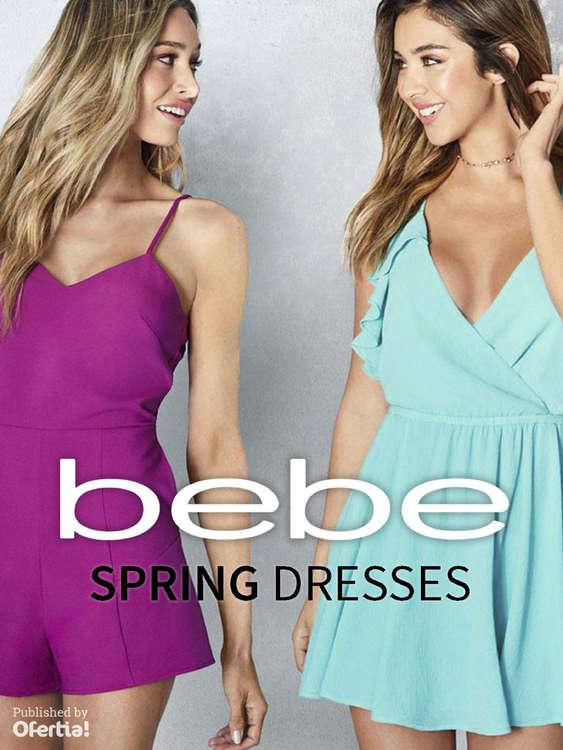 Ofertas de Bebe, Spring Dresses
