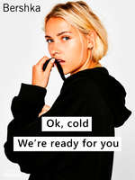 Ofertas de Bershka, Ok, cold we're ready for you