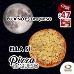 Ofertas de Quiznos Sub, Pizza de Queso
