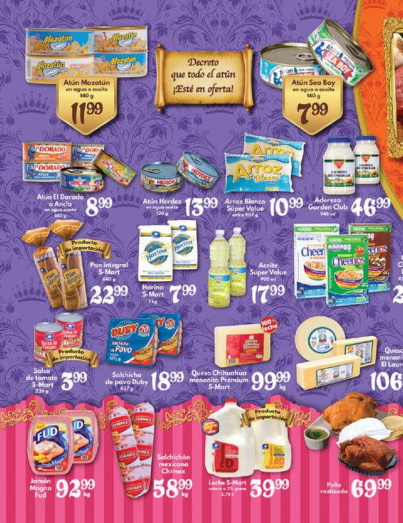Ofertas de S-Mart, El Rey de las Ofertas- Díptico Arcos y Capitán