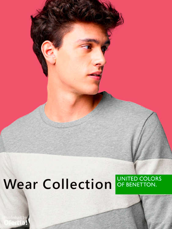 Ofertas de Benetton, Wear collection
