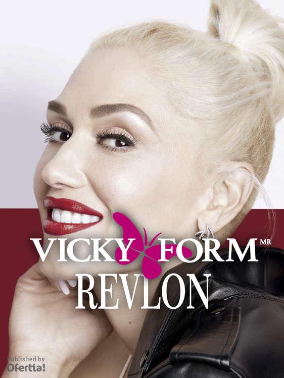 Ofertas de Vicky Form, Productos Revlon