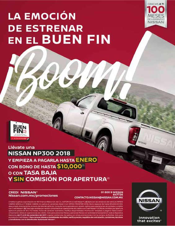 Ofertas de Nissan, La emoción de estrenar en el Buen Fin