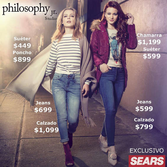 Ofertas de Sears, Philosophy Jr