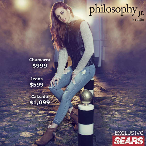 Ofertas de Sears, Philosophy Jr