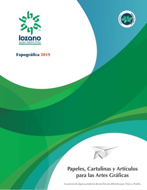 Ofertas de Lozano, Expográfica 2019