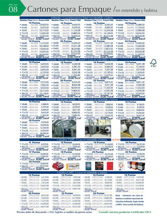 4a52e0b58 Papel kraft en Ciudad Nezahualcóyotl - Catálogos, ofertas y tiendas ...