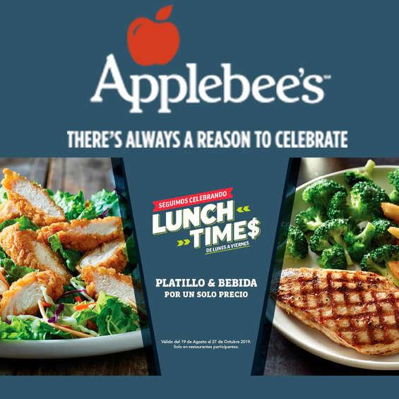 Ofertas de Applebee's, Lunch Time$