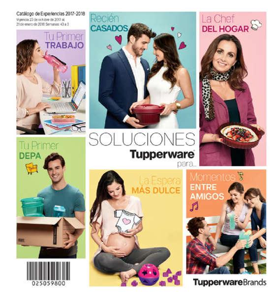 Ofertas de Tupperware, Catalogo de experiencias