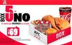 Ofertas de KFC, Box 5 en uno