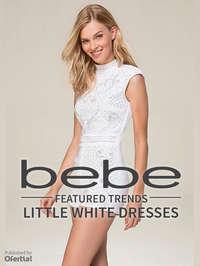 Otoño Invierno Little White Dresses