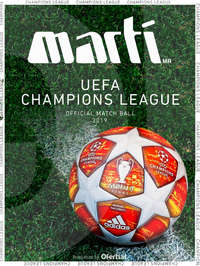 UEFA Champions League Official Matchball 2019