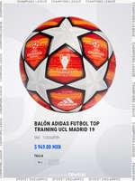 Ofertas de Martí, UEFA Champions League Official Matchball 2019